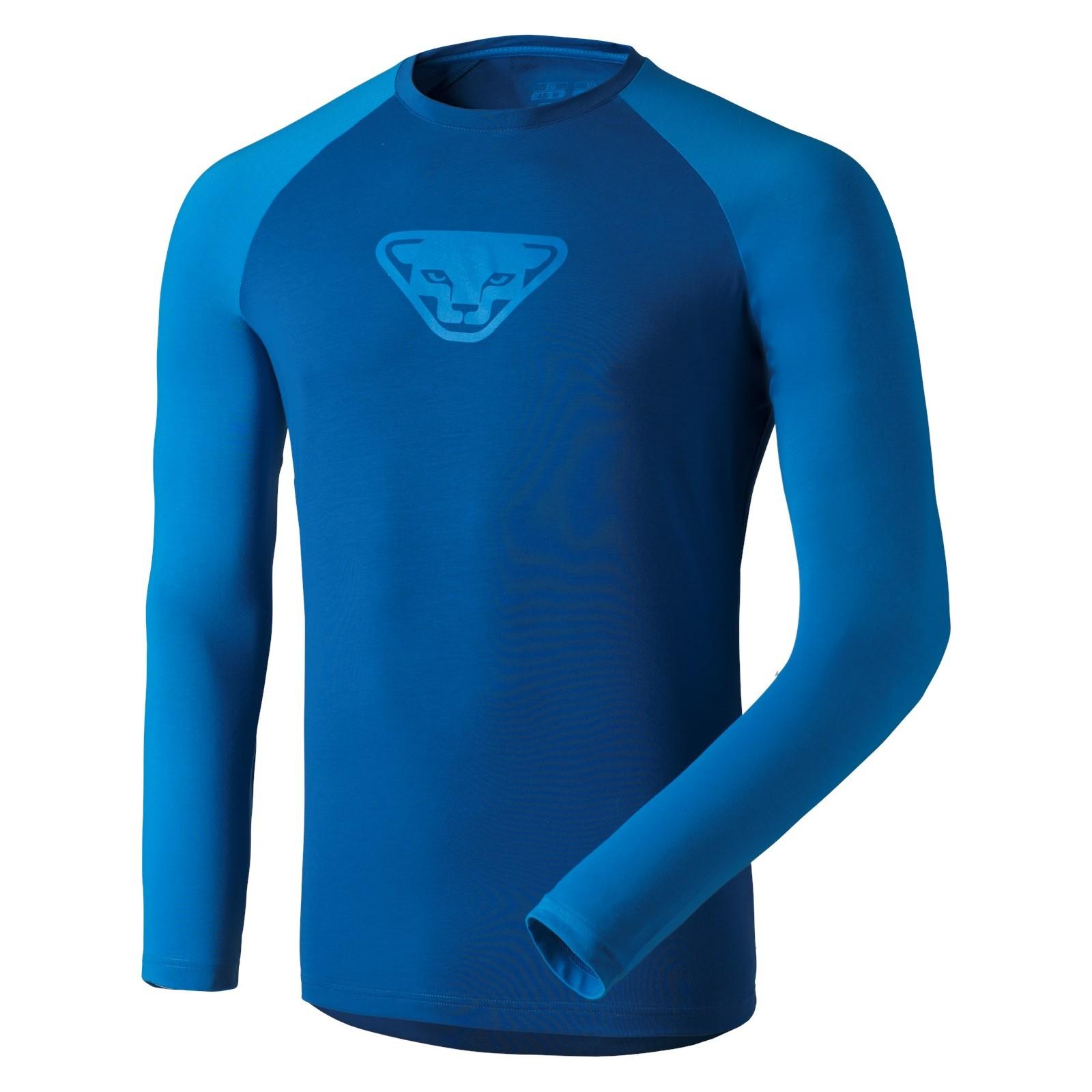 T-shirt homme manches longues 24/7 bleu