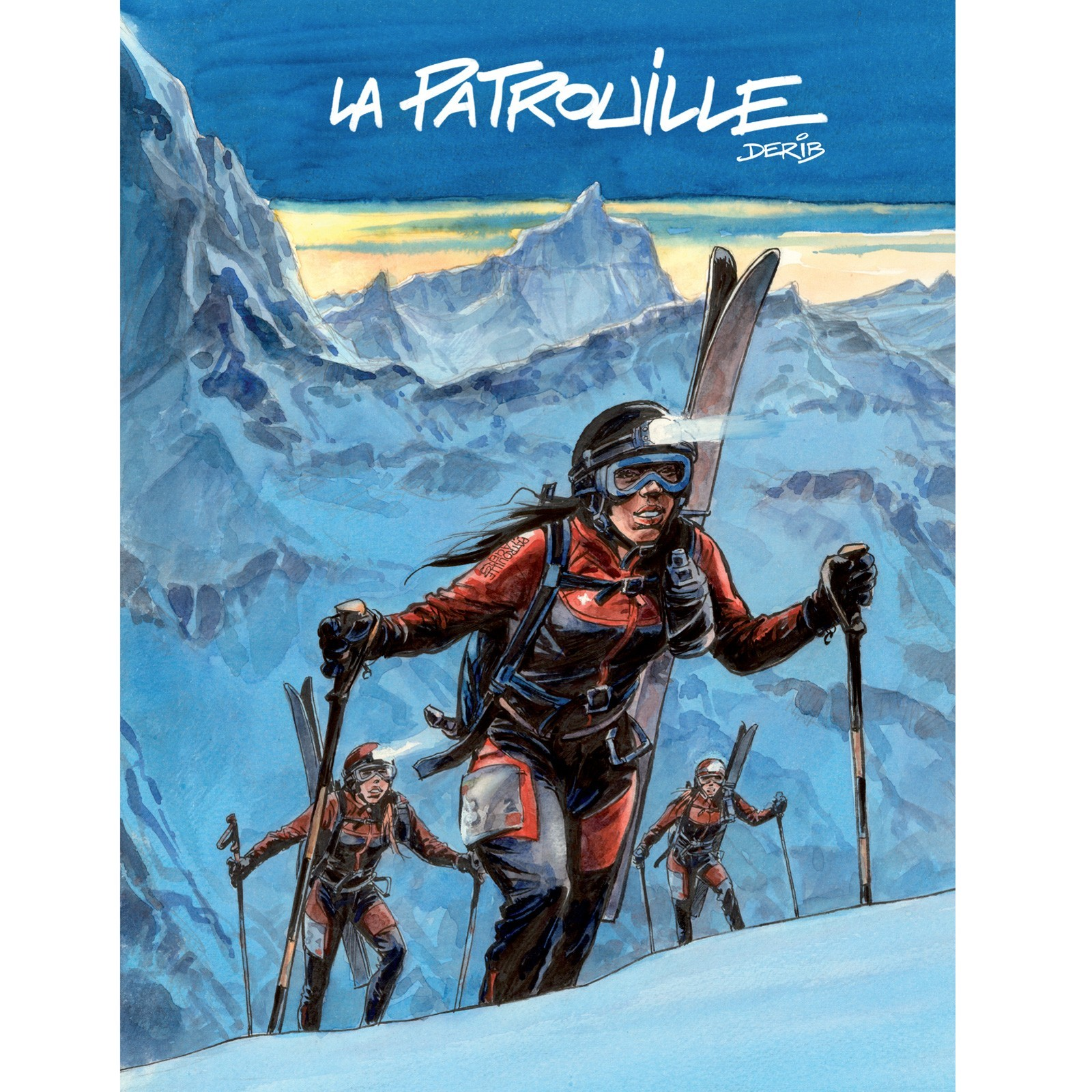 """Comic Buch """"LA PATROUILLE"""" (FRANZÖSISCH)"""